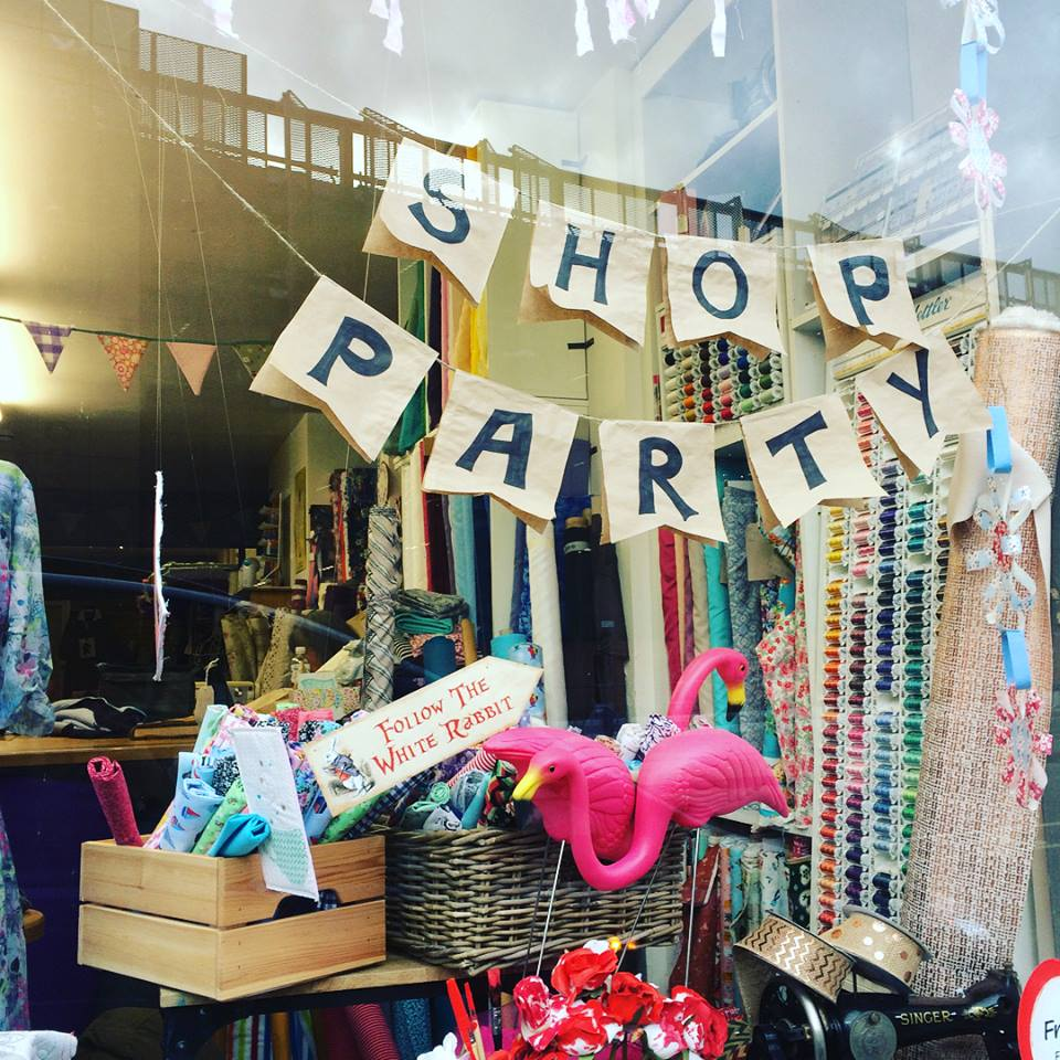 Shop Party Bunting