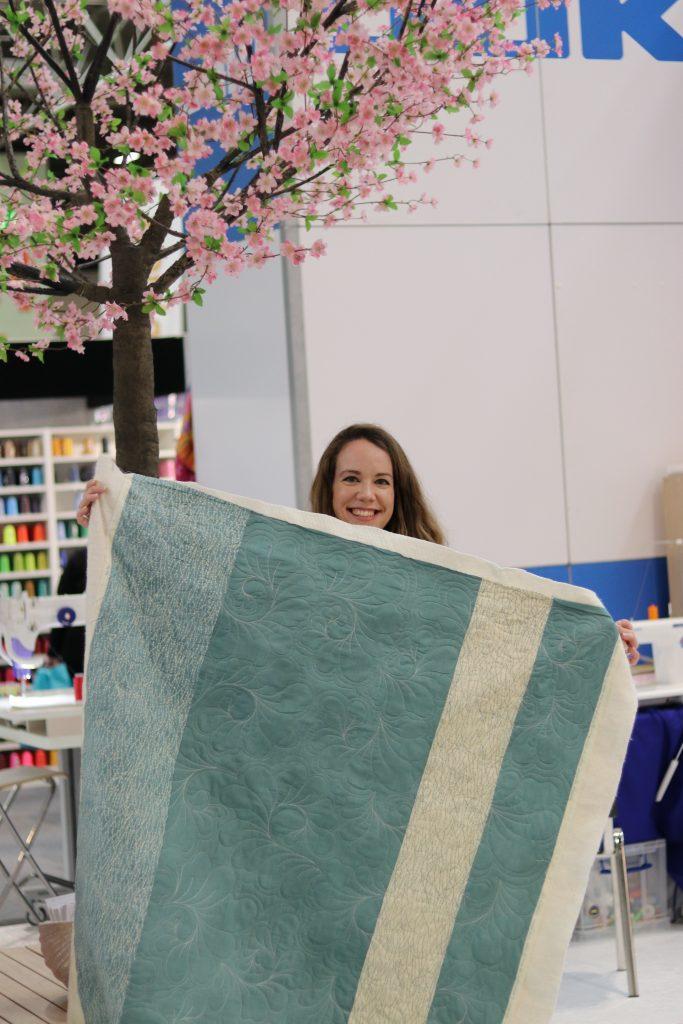 Emily's Juki Long arm quilt