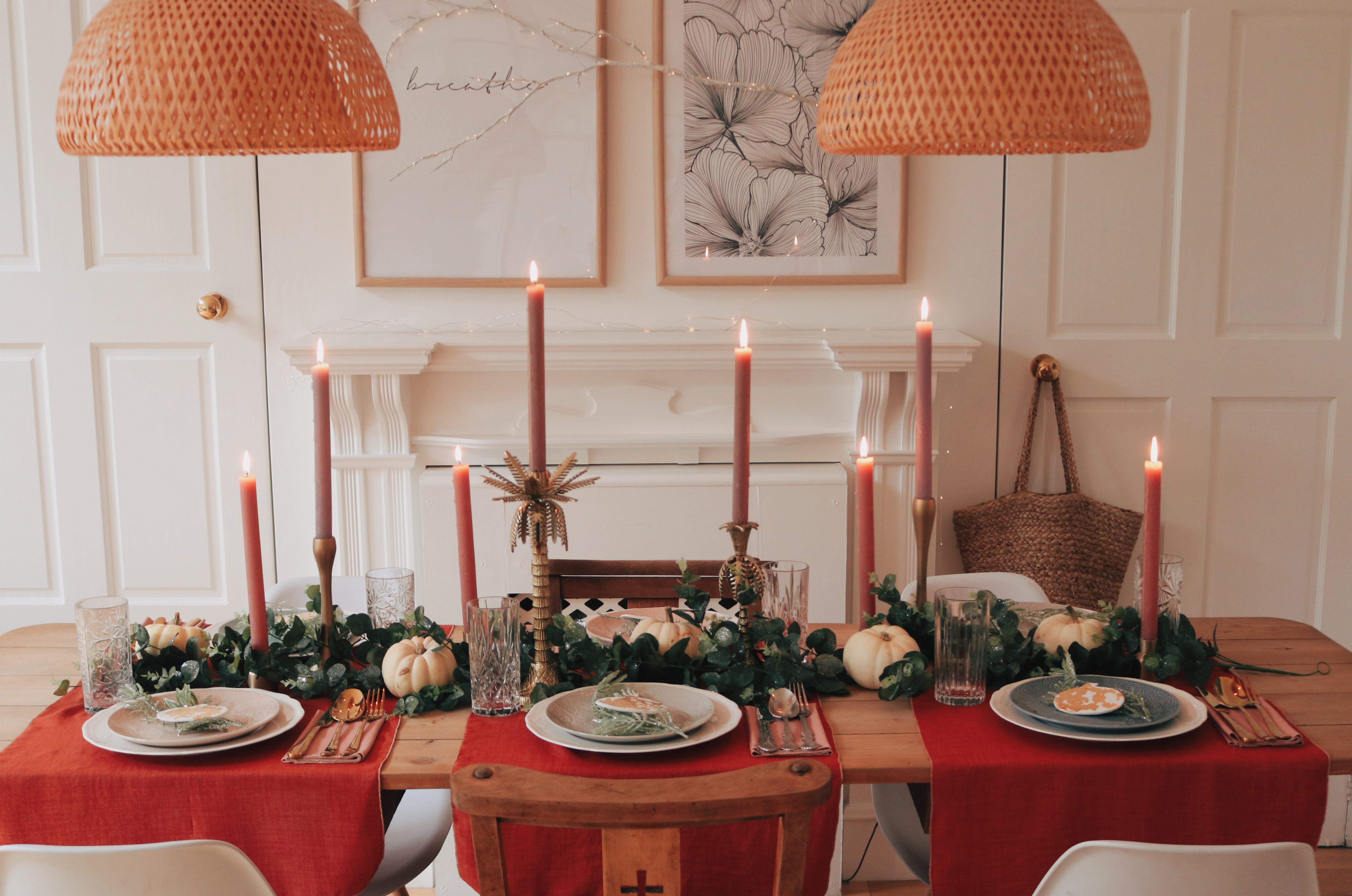 Emily's Thanksgiving Table