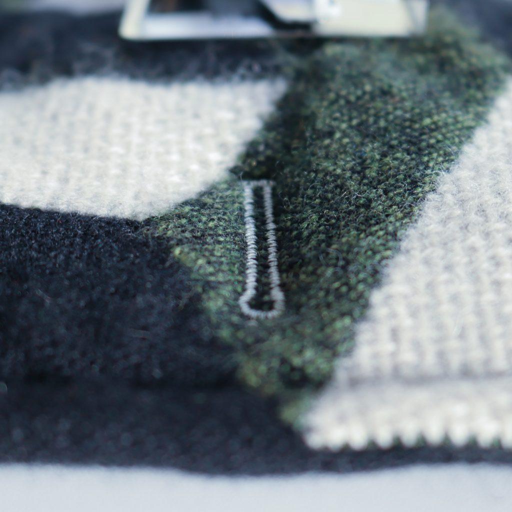 Juki NX7 buttonhole