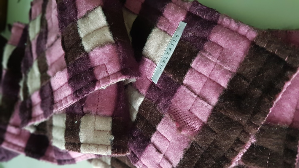 cashmere slitter tape woven scarves