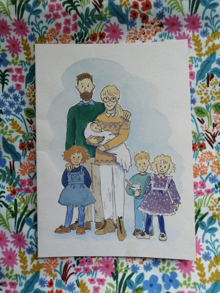 Martha Milne's family
