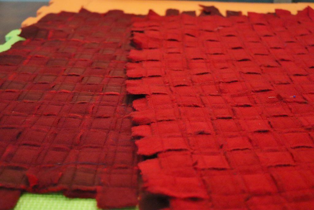 weaving the slitter tape