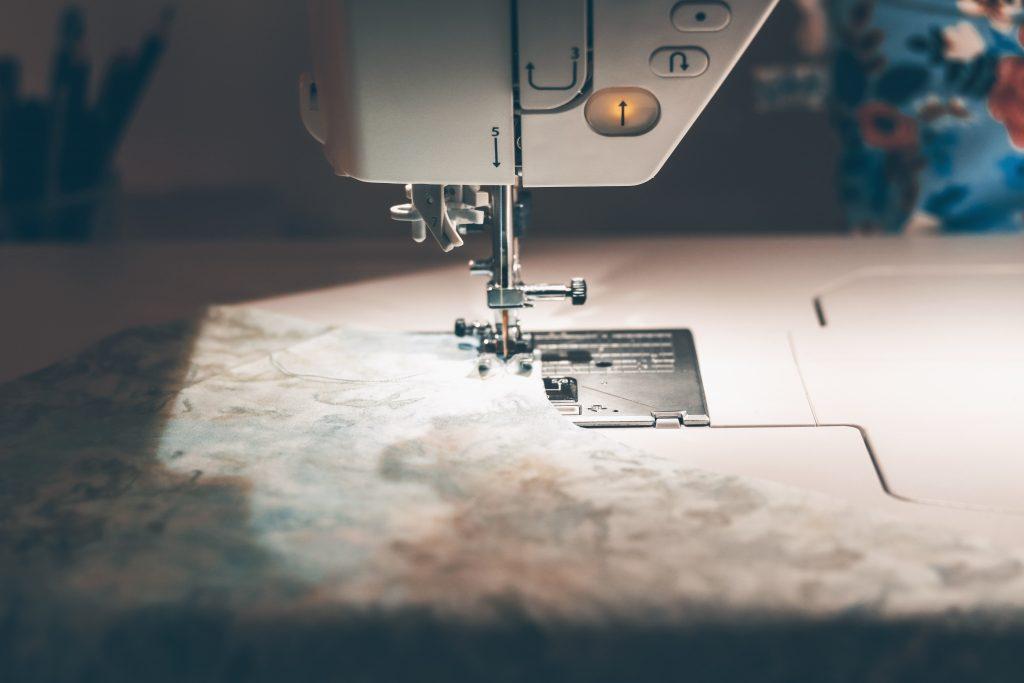 making PJ shorts on the Juki NX7 Sewing machine