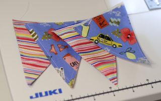 Baby Bunting flags